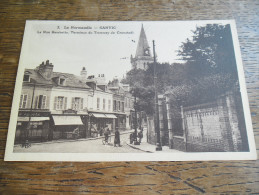 CPA De Sanvic - N°2 - La Rue Gambetta, Terminus Du Tramway De Cronstadt, Carte Animée - France