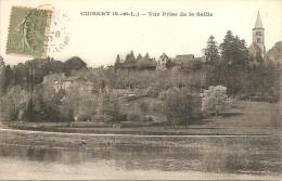 CUISERY VUE PRISE DE LA SEILLE 1920 - Other Municipalities