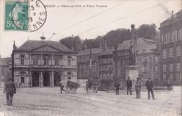 CPA - 08 - SEDAN - Hôtel De Ville Et Place Turenne - 134 - Sedan