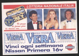 LOTTERIA ITALIA 1996 - SCOMMETTIAMO CHE - CARTOLINA PERFETTA - Cartoline