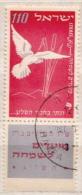 Israel Used Stamp With Tab - Columbiformes
