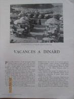 Vacances à Dinard    Le Clos Du Pavillon - Publicités