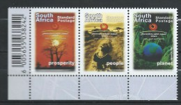 Africa South Africa 2002 World Summit For Sustainable Development, Johannesburg.MNH - Unused Stamps