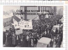 LONGWY  -    Sidérugie  Vivra     -   Grève Des  Lycéens   -  Le  25.01.1979 - Longwy