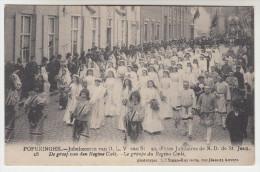 Poperinge, Poperinghe, Jubelfeesten Van O.L.V Van St Jan, De Groep Van Den Regina Coeli (pk22581) - Poperinge