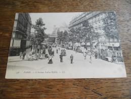 CPA De Paris - N°446 - L´Avenue Ledru Rollin, Carte Très Animée, Marché Aux Meubles, Brocante - Other