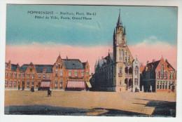 Poperinge, Poperinghe, Stadhuis, Post, Markt (pk22590) - Poperinge
