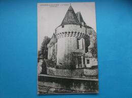 17 : DAMPIERRE Sur BOUTONNE : Le  CHATEAU   ,  C.P.A. Carte En Trés Bon état      , - Châteaux