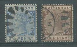 150022025  BARBADOS  YVERT  Nº  41/4 - Barbados (...-1966)
