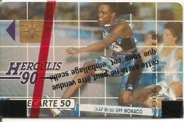 CARTE*-PUBLIC-MONACO-50U-MF 06-GEM A-HERCULIS 90-NSB-TBE-LUXE - Monaco