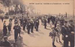 Virton 22 Août 1919 Cimetière De La Chamberlaine Le Cortège - Virton