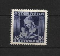 Austria - 1936 - Dürer, Art - MNH - 1918-1945 1ère République