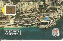 CARTE-PUBLIC-MONACO-50U-MF4A-SC4 On-PALAIS CONGRES--UTILISE-BE - Monaco