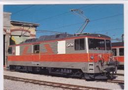 """GFM : Locomotive """"Ville De Bulle"""" - Timbres (représentations)"""