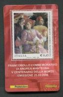 ITALIA TESSERA FILATELICA 2006 - ANNIVERSARIO MORTE ANDREA MANTEGNA - 075 - 6. 1946-.. Republik