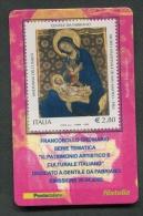 ITALIA TESSERA FILATELICA 2006 - PATRIMONIO ARTISTICO CULTURALE ITALIANO - GENTILE DA FABRIANO - 121 - 6. 1946-.. Republik