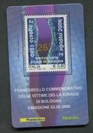 ITALIA TESSERA FILATELICA 2006 - ANNIVERSARIO DELLA STRAGE DI BOLOGNA - 141 - 6. 1946-.. Republik