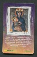 ITALIA TESSERA FILATELICA 2006 - MARIA SS. IN CALDANA MONDRAGONE - 111 - 6. 1946-.. Republik