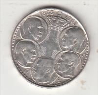 GREECE - 5 Kings 1863-1963, Map Of Greece, Silver Coin 30 Drachma, Edition 1963 - Greece