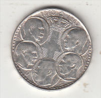 GREECE - 5 Kings 1863-1963, Map Of Greece, Silver Coin 30 Drachma, Edition 1963 - Griekenland