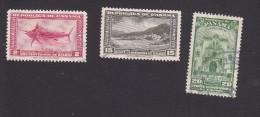 Panama, Scott #C96-C98, Used, Scenes Of Panama, Issued 1948 - Panama