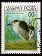 HUNGARY - Scott #2660 Nycticorax Nycticorax (*) / Used Stamp - Storks & Long-legged Wading Birds