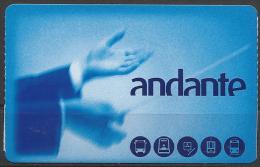 "Portugal, Porto Transportation Ticket , ""ANDANTE"", 2015."