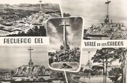 P1350  - POSTAL -  RECUERDO DEL VALLE DE LOS CAIDOS - MONUMENTO NACIONAL ++ - Madrid