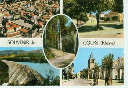 CP.  69.  COURS.  MULTIVUES - Cours-la-Ville