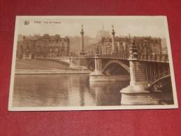 LIEGE -   Pont De Fragnée      -  1937  -  (2 Photos Recto-verso) - Liege