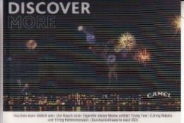 MATERIAL - 3D - CAMEL Advertising, Fireworks, Feuerwerk - Ansichtskarten