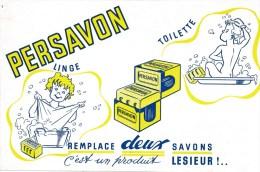 Buvard (format 135 X 210mm)  - B1731 - Savon Persavon- (non Utilisé) - Buvards, Protège-cahiers Illustrés