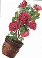 Beau Découpi Pot De Fleurs, Dimension 30 Cm - Fleurs