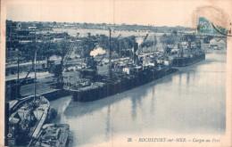 17 ROCHEFORT SUR MER CARGOS AU PORT CIRCULEE 1925 - Rochefort
