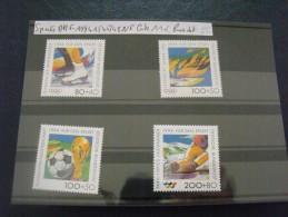 ALLEMAGNE FED 1994 1545 1548   NEUF COTE 11  EUROS PRIX DE VENTE 5 EUROS SPORTS - Francobolli