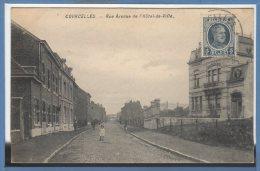BELGIQUE --  COURCELLES -- Rue Avenue De L´Hôtel De Ville - Courcelles
