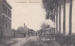 Nieuwkerke - Neuve - église - Station De Train - Tram - Heuvelland