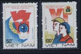 Vietnam Viet Nam MNH Perf Stamps 1988 : 6th Congress Of Vietnamese Trade Union (Ms549) - Vietnam