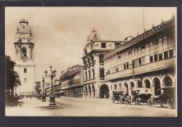 Old Card of Portales de Botoneros,Lima,Peru,J8