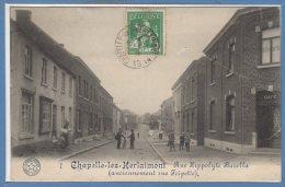 BELGIQUE -- CHAPELLE Lez HERLAIMONT -- Rue Hippolyte Barella - Chapelle-lez-Herlaimont
