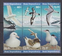 Ross Dependency 1997 Sea Birds 6v Se-tenant ** Mnh (24482) - Ross Dependency (Nieuw-Zeeland)