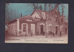 Paluds De Noves (13)- Poste Et Ecoles ( Animée Ecole Ed. Maitretin Agence Postale) - Francia