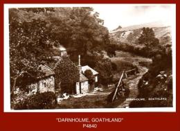 "P4840  ""DARNHOLME, GOATHLAND""  (c.1930's. B/w Gloss Real Photo Postcard) - England"