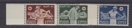 Belgish Congo 1957 Rode Kruis 3w  (+boord) ** Mnh (24486B) - Belgisch-Kongo