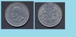 Kenya - 1975 -  1 Shilling...km14 - Tunisia
