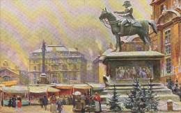 Autriche - Wien - Am Hof Mit Radetzky Denkmal - 1910 - Theo. Stroefer's Städte-Ansichten - Vienna