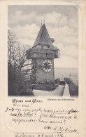 Autriche - Gruss Aus Graz -  Uhrturm Am Schlossberg -  Pionnière 1902 - Graz
