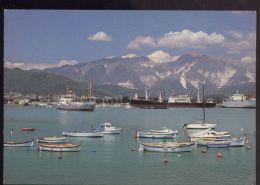 L9371 MARINA DI CARRARA - PORTO E ALPI SULLO SFONDO - Carrara