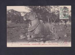 Indochine Cochinchine - Ex Cambodge - Angkor Thom - Boeuf Sacre - Nandi ( Art Khmer Dieulefils) - Cambodia
