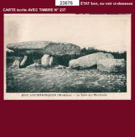 23676 CPA CPM CPSM Carte Postale LOCMARIAQUER TABLE DES MARCHANDS - Non Classés